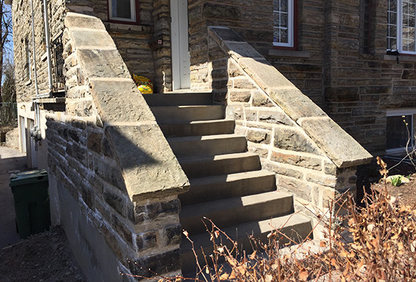 Réparation escalier de béton Montréal